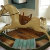 18th century Rocking Horse gallops into the Bishop's Palace