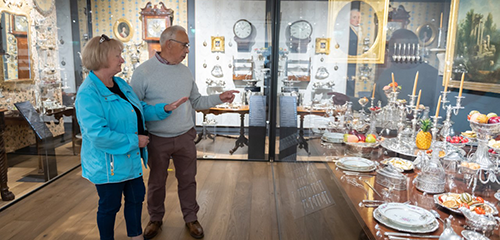 Explore the fascinating storyof Ireland through magnificent, intimate and personal silver treasures