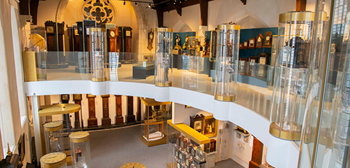 Ireland's only horological museumFeatures the oldest Irish longcase and table clocks and watches in the world.