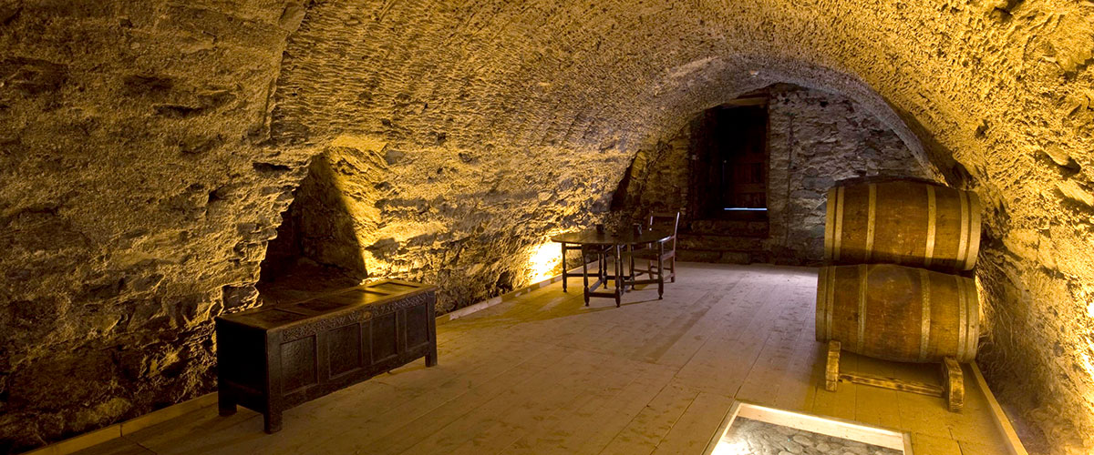 The oldest wine vault in Ireland