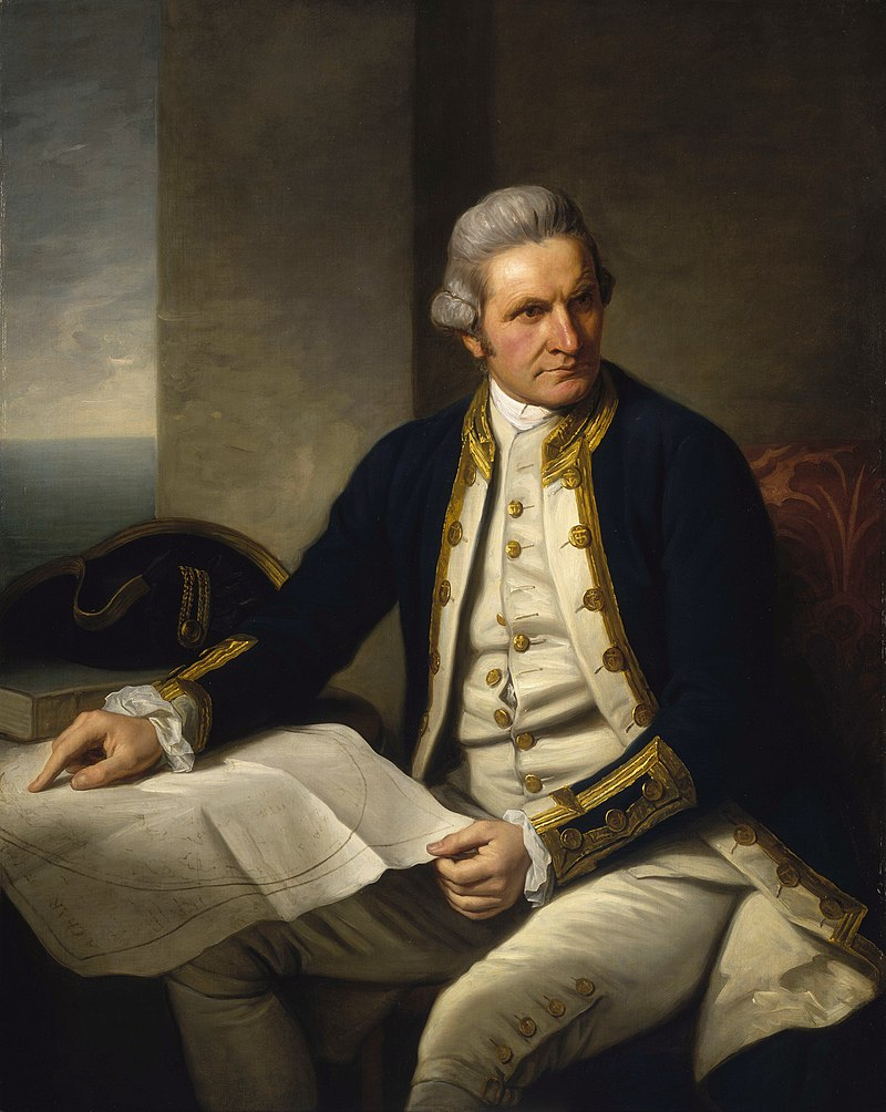 Captain Cook relied on a copy of one of Harrison's watches