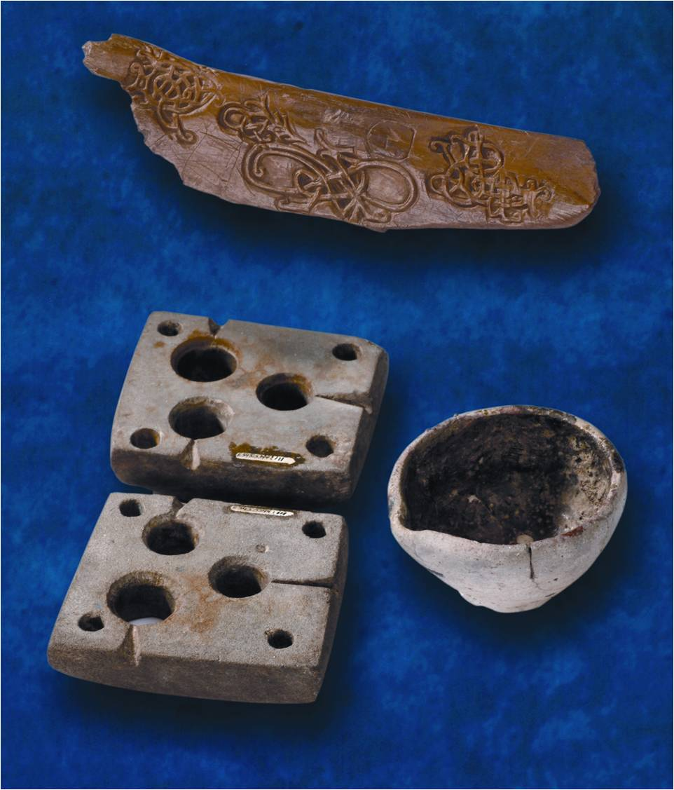 Tools of the Waterford Viking Silversmith